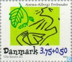 Postage Stamps - Denmark - Asthma-allergy Association