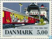 Postage Stamps - Denmark - Transport Of Mail