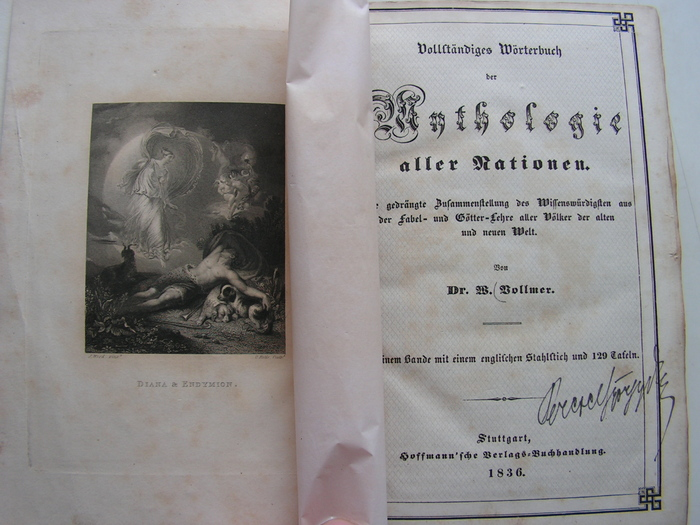 Mythologie aller Nationen - gb - 1e druk - (1836)