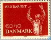 Postage Stamps - Denmark - Rescues the child