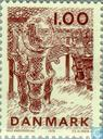 Postage Stamps - Denmark - Fishing