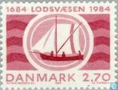 Postage Stamps - Denmark - Piloting