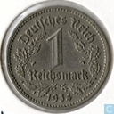 German Empire 1 reichsmark 1934 (D)