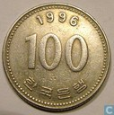 Zuid-Korea 100 won 1996