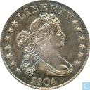 Most valuable item - USA 25 cent 1804