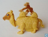 Camel with monkey