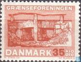 Postzegels - Denemarken - Grensvereniging