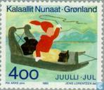 Postage Stamps - Greenland - Santa Claus