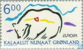 Postage Stamps - Greenland - Europe - Nature reserves and parks