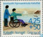 Postage Stamps - Greenland - Disabled