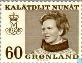 Postage Stamps - Greenland - Queen Margrethe