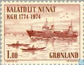Postage Stamps - Greenland - Could. Handel-Maatschappij 200 years