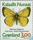 Postage Stamps - Greenland - Butterflies