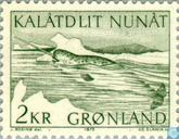 Postage Stamps - Greenland - Narwhal