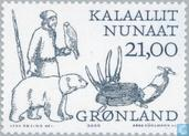 Timbres-poste - Groenland - Vikings