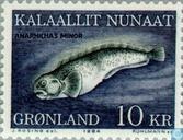 Timbres-poste - Groenland - Poisson