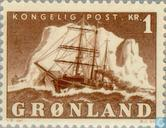 Timbres-poste - Groenland - Voilier