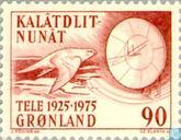 Postage Stamps - Greenland - Telecommunication 50 years