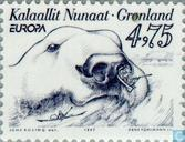 Postage Stamps - Greenland - Europe – Tales and legends