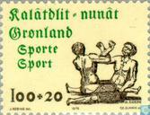 Postage Stamps - Greenland - Sport