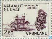 Timbres-poste - Groenland - Colonisation au Groenland