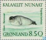 Postage Stamps - Greenland - Seals