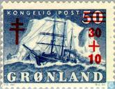 Postage Stamps - Greenland - TB fight