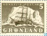 Postage Stamps - Greenland - Ship