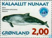 Postage Stamps - Greenland - Whales