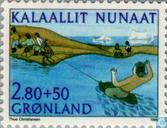 Timbres-poste - Groenland - Sport