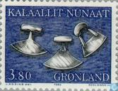 Briefmarken - Grönland - Altes Geschirr