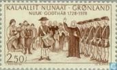 Postage Stamps - Greenland - Godthåb 250 years