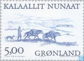 Postage Stamps - Greenland - Vikings