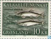 Postage Stamps - Greenland - Fish