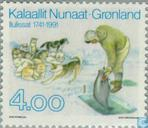 Postage Stamps - Greenland - Ilulissat 250 years