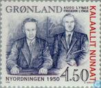 Postage Stamps - Greenland - Relationship with Denmark