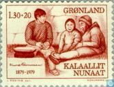 Postage Stamps - Greenland - Rasmussen. Knud 1879-1933