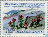 Postage Stamps - Greenland - Flowers