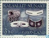 Timbres-poste - Groenland - Vieux ustensiles