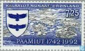 Postage Stamps - Greenland - Paamiut 250 years