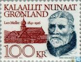 Postage Stamps - Greenland - Famous persons