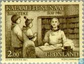 Timbres-poste - Groenland - Bibliothèques 1830-1980