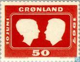 Postage Stamps - Greenland - Wedding of the heir to the throne Margrethe