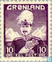 Timbres-poste - Groenland - Roi Christian X