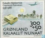 Postage Stamps - Greenland - 50 years Greenland Post