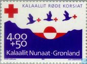 Postage Stamps - Greenland - Red Cross