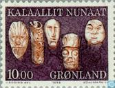 Postage Stamps - Greenland - Old utensils