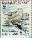 Timbres-poste - Groenland - WWF-Harfang des neiges