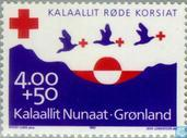 Timbres-poste - Groenland - Croix Rouge