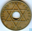 British West Africa ½ penny 1936